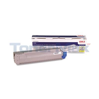 OKIDATA C830 TONER CARTRIDGE YELLOW